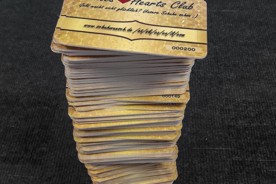 PVC Kartičky